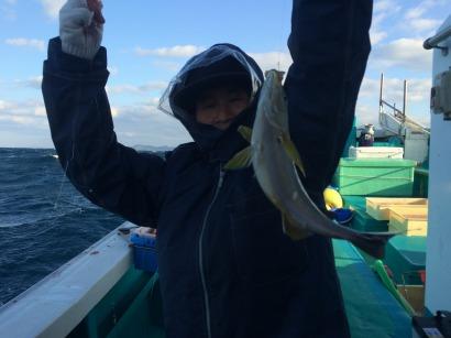 イサギ釣り!