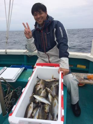 イサギ釣り!!