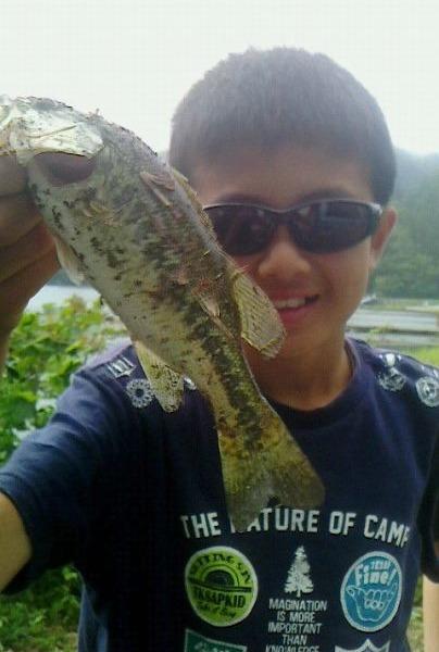 """""""一歩""""バス釣り部!野尻湖で釣り~♪"""
