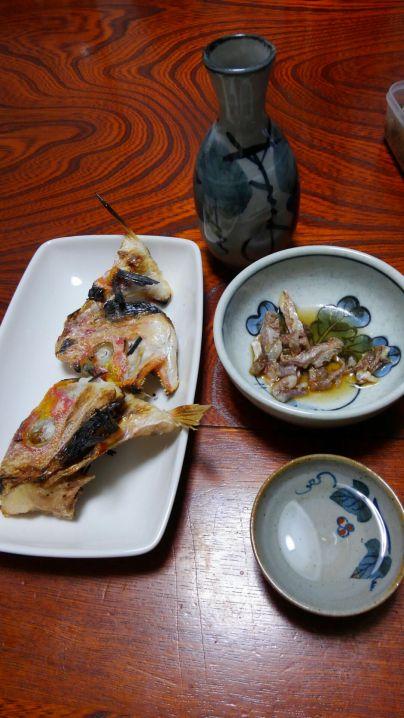 ウマズラハギとキダイ(レンコダイ)
