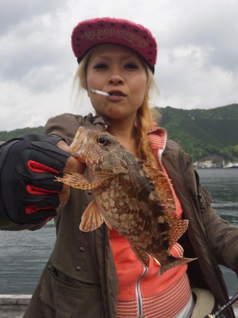 筏釣り初挑戦の巻き~♡