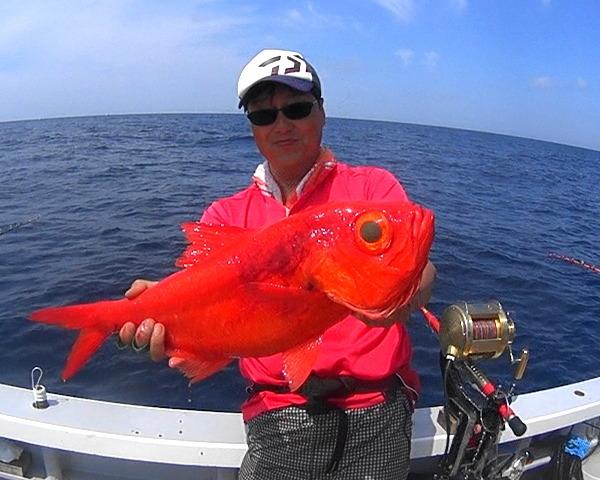 【キンメダイ】新島沖のブランドが釣りたい!