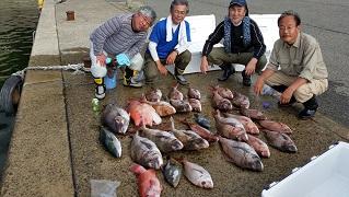 マダイ 43~65㎝ 23枚 ほか 昨年の釣果シリーズ
