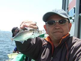 2016年東京湾初アジ釣り