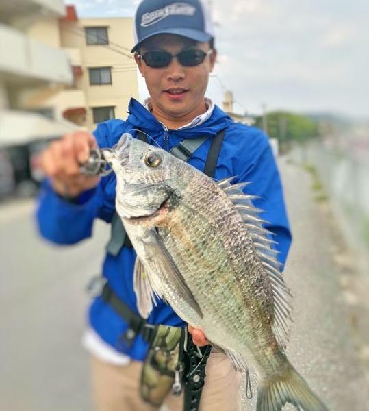 沖縄チヌ釣りシーズンイン♪