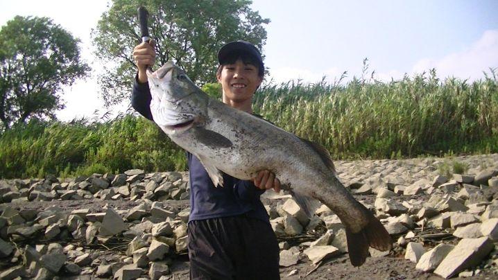 久留米釣り男児