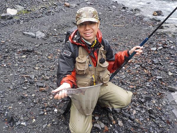 同行のはるのさんも良い型の魚を沢山釣っていました。