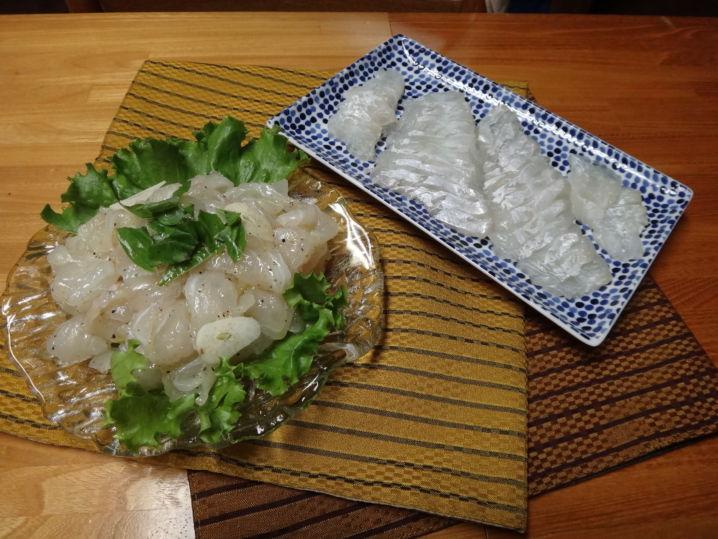 きれいな白身の美味しい魚。すぐに血抜き活〆してお持ち帰り。 さ…