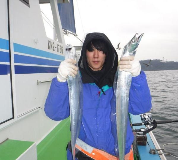 太刀魚GET!
