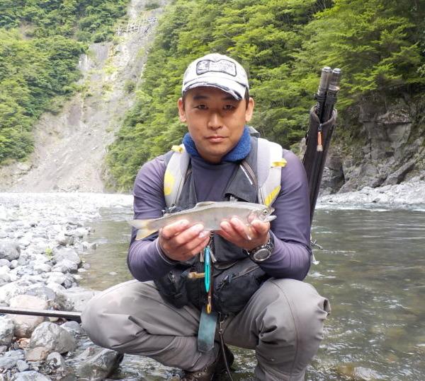 弟子のはるのさん との大井川釣行!!