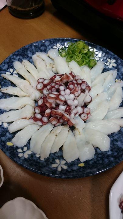 蛸刺炙り…絶品です(^^)v