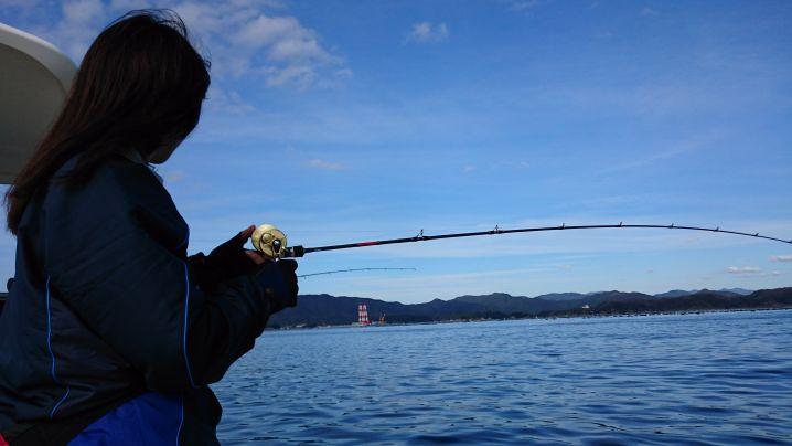 釣りガール誕生