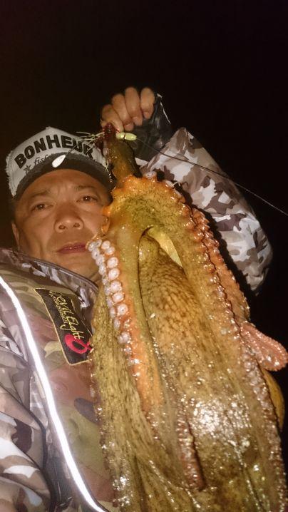 藻場際から1.66㌔…goodsizeの蛸get✨