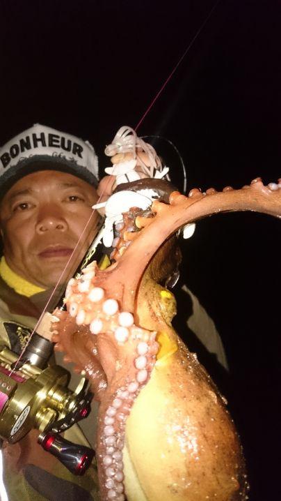 最強ワーム…デビルロブスターで蛸↑捕獲(^^)v