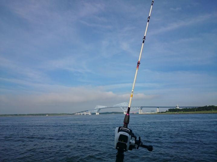 東京湾アジ釣り