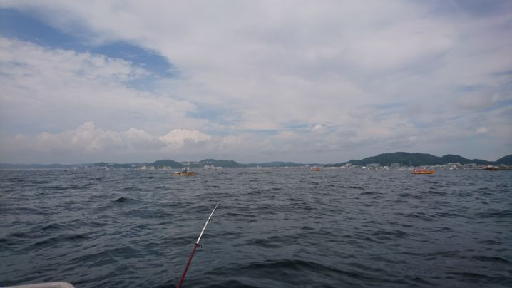 手漕ぎボートで海釣り/メンバー募集中