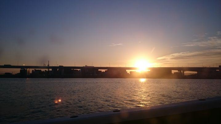 誕生日祝に東京湾アジ釣り🎣
