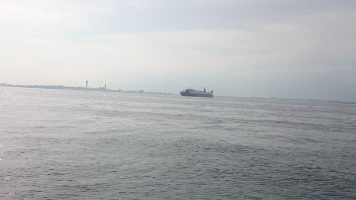 本日も東京湾🎵アジ釣り🎣