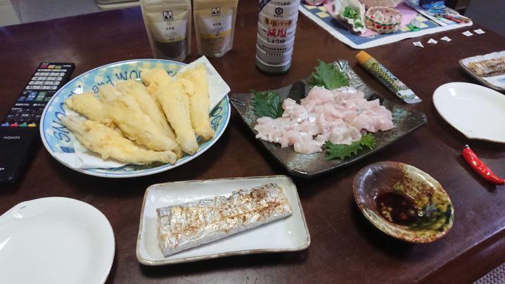 太刀魚🎣も楽しく☺️食べても最高ですね