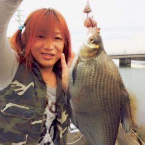 霞ヶ浦で激レア魚釣ったよ(╹◡╹)