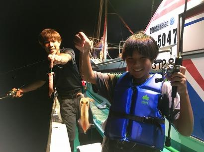 イカメタルで赤イカ釣り!