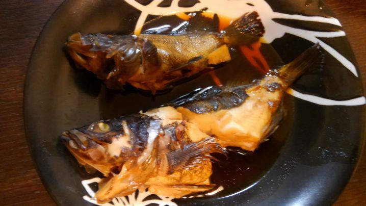 煮魚と唐揚げにしていただきましたー✨