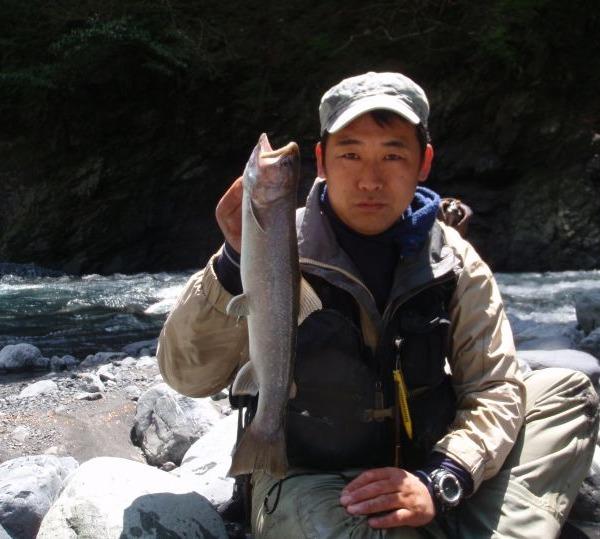 昨年の釣果です! 大井川水系の尺上!