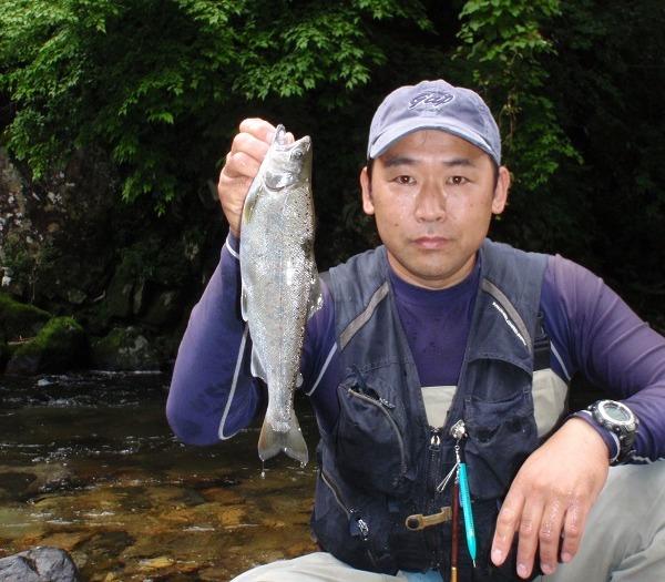 初めての愛知の渓で尺上アマゴGET!!