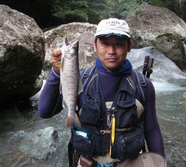 昨年の釣果です! 伊豆水系の尺上アマゴ