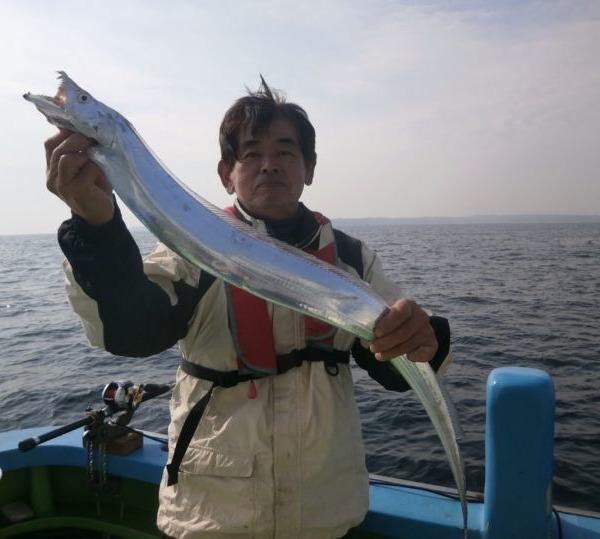タチウオ、アジが釣れました