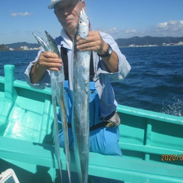 太刀魚 1m 釣れたよ(^_-)-☆