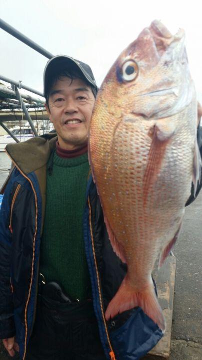 中鯛1.7キロ