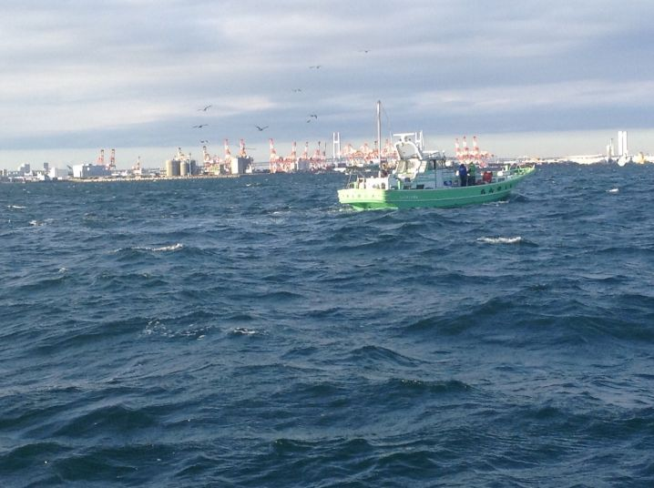 27日東京湾タチウオジギング
