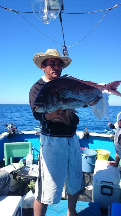 真鯛75センチ他玄達瀬遊漁 今年の総集編です