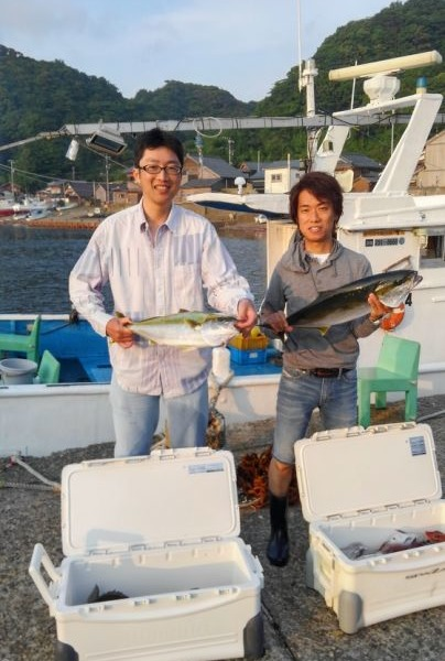 ヒラマサ72センチと65センチ各1本 真鯛60センチまで11枚 クロダイ45センチまで3枚 ホウボウ2枚でした~