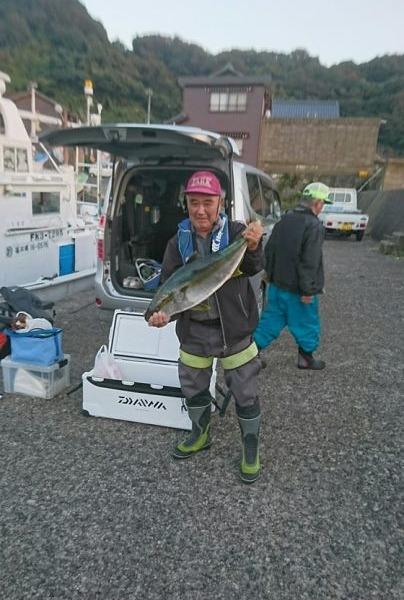 釣果11月5日 ヒラマサ90cm