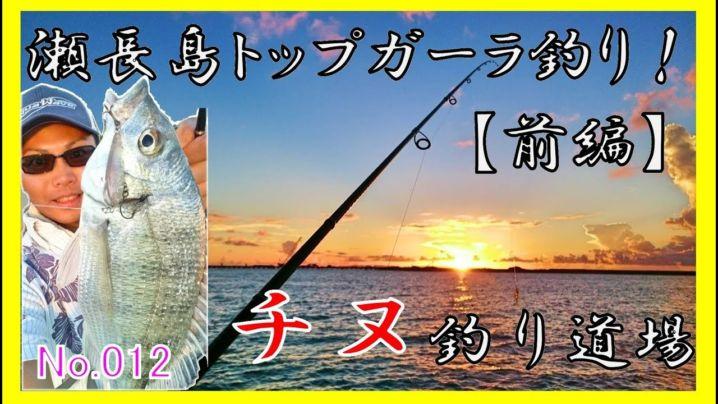 観光地でチヌ釣りだ♪