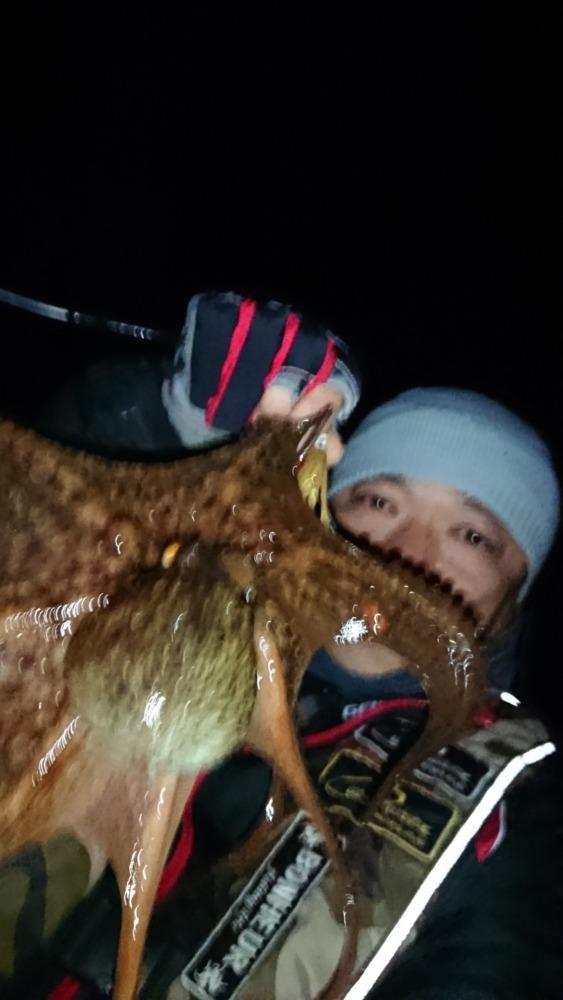 2019釣り納め…真蛸で一年を締めた🤣🤣