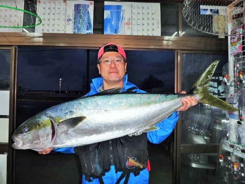 八丈島 今年もヒラマサ来た! 地磯からミノーのキャスティングで13.5kg!