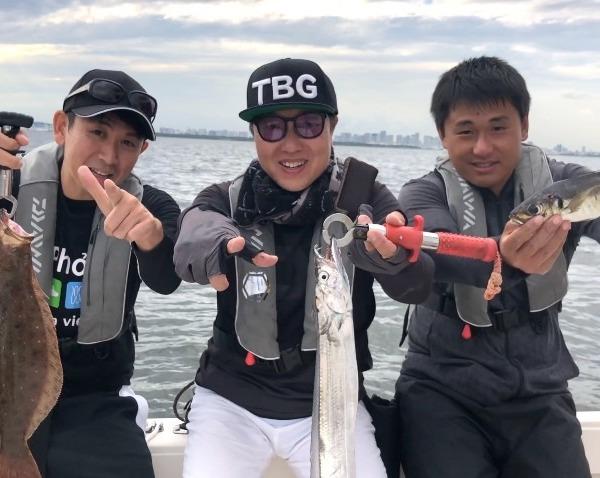 東京湾!ボートで五目釣り!!